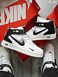 Зимние кроссовки Nike Air Force 1 НА МЕХУ, фото 4