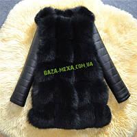 Зимняя Куртка Экомех чёрная