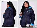 Женская демисезонная куртка трансформер, фото 2