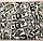 """Семейное постельное белье евро-размер с двумя пододеяльниками (6468) хлопок """"Ранфорс"""", фото 6"""