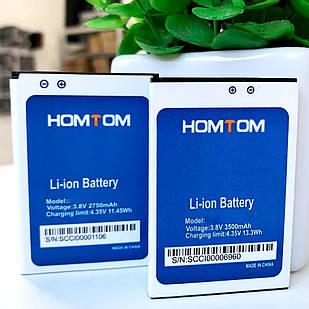 Акумулятор (Батарея) Homtom HT7 / HT7 Pro / Ergo A550 Original 3000 mAh