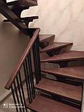 Лестница на металлическом косоуре, фото 2