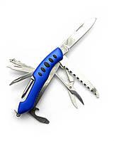 Нож складной с набором инструментов 10х2,5х2см 11 в 1 (19951)