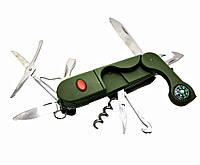 Нож складной 14в1 9,5см (18890)