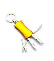 Нож-брелок маникюрный набор 4 в 1 10х3х1,5см (27117)
