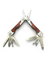 Нож-плоскогубцы с набором инструментов 9 в 1 7х3х1,5см (27159)