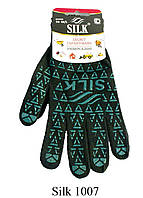 """Рукавиця ТМ""""SILK"""", Зелені. Арт.1007"""