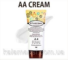 Осветляющий омолаживающий АА крем для лица Rivecowe All day All right АА Cream 40мл