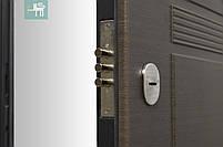 Двери входные металлические ПO-29 Beнгe cірий гoризoнт, фото 8