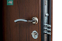 Двери входные металлические ПК-23+ Горіх білоцерківський, фото 6
