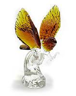 Орел хрустальный цветной (21см)