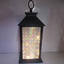Лампа-фонарь с подсветкой 13*13*28см R28324 (18шт)