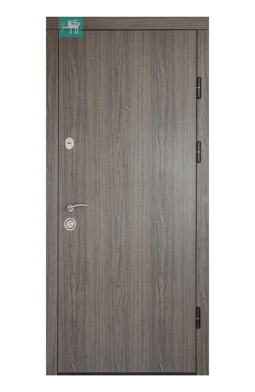 Двери входные металлические ПК-00+ V Дуб вулканічний Vinorit