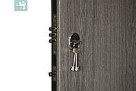 Двери входные металлические ПК-00+ V Дуб вулканічний Vinorit, фото 3