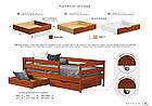 Дерев'яне ліжко Нота Бене Естелла ™, фото 5