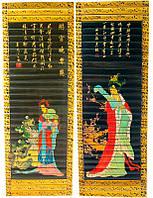 Панно бамбук 24х65см (22095)