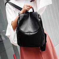 УЦЕНКА! Женский черный рюкзак, городской рюкзак УСС-4612-99