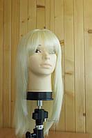 Женский парик из натуральных волос блонд