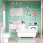 Большой игровой кукольный домик Ecotoys 4128 Candy с лифтом + кукла, фото 5