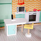 Большой игровой кукольный домик Ecotoys 4128 Candy с лифтом + кукла, фото 6