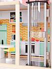 Большой игровой кукольный домик Ecotoys 4128 Candy с лифтом + кукла, фото 3
