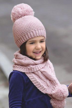 теплые детские шапки
