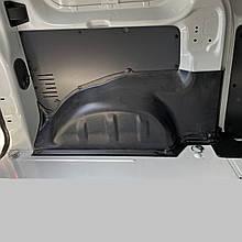 Пластикові захисні накладки на колісні арки для Peugeot Expert lll L1 4.6 m, L2 4.95 m 2016+