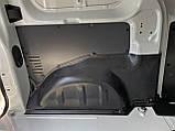 Пластикові захисні накладки на колісні арки для Peugeot Expert lll L1 4.6m, L2 4.95m 2016+, фото 2