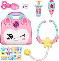 Набор доктора в сумке-чемоданчике единорог с аксесуарами для кукол Кинди Кидс Kindi Kids Doctor Bag, фото 1