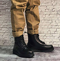 Мужские ботинки Dr.Martens Dr.Martens черные кожа, зима.  ТОП Реплика ААА класса., фото 3
