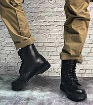 Мужские ботинки Dr.Martens Dr.Martens черные кожа, зима.  ТОП Реплика ААА класса., фото 2