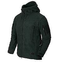 Куртка флисовая Helikon-Tex® PATRIOT Jacket - Double Fleece - Jungle Green L