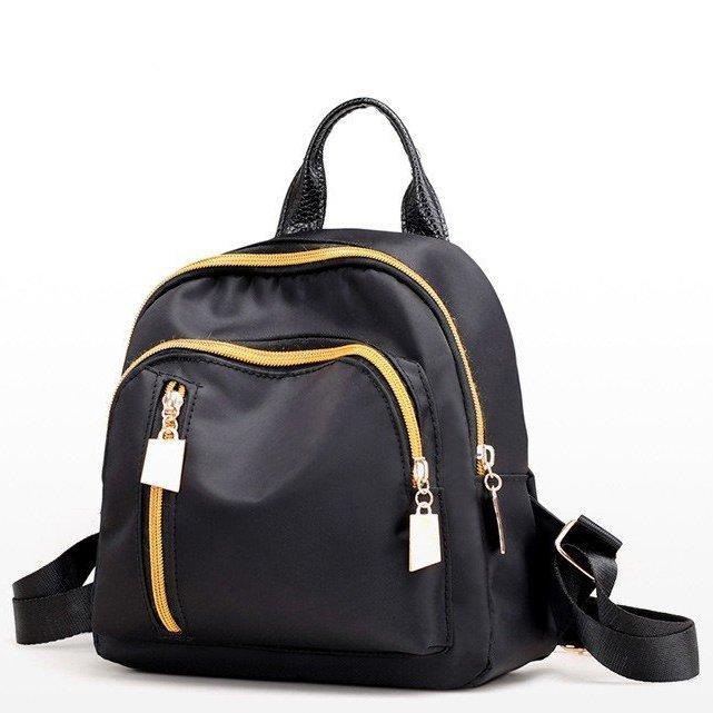 Женский рюкзак, черный рюкзак из ткани, рюкзак на каждый день СС-3679-10