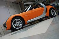 НАШИ РАБОТЫ: Работа над Smart Roadster (оклейка пленкой + много разностей)
