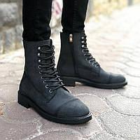 Мужские высокие ботинки ZM-05 Black