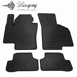 Резиновые коврики в автомобиль Volkswagen Passat B7 2010-2014 (Stingray)