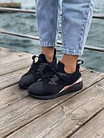 Женские черные кроссовки Puma Muse 2 Satin Strap (Кроссовки Пума Стейн Стреп черного цвета), фото 1