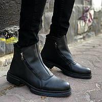 Мужские высокие ботинки ZM-04 Black
