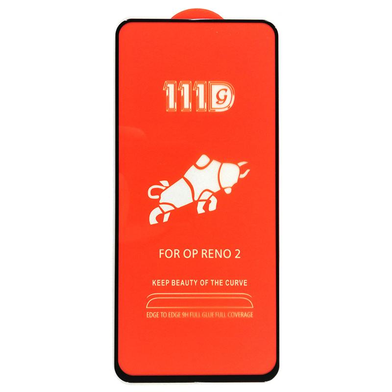 Защитное стекло 111D для Realme 6 (Black)