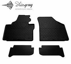 Резиновые коврики в автомобиль Volkswagen Touran I 2003- (Stingray)
