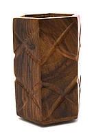 Подставка под ручки розовое дерево 10х6,5х6,3см (23522)