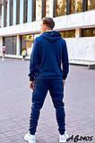 Спортивный мужской костюм трехнитка, фото 2