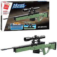 Конструктор Qman 6008 Снайперская винтовка с мягкими пулями