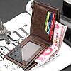 Чоловічий гаманець Baellerry чорний, фото 2