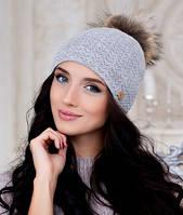 Зимняя женская шапка  Аризона