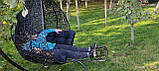 Подставка под ноги для подвесного качели кокон, кресло кокона,садовой качели.Коричневая, фото 2