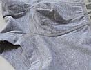 Трусы боксеры Seeinner серого цвета с серой резинкой, фото 9