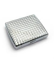 Портсигар металл 9,5х8х2см (28073)