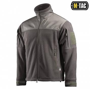 Кофта тактическая M-TAC Hexagon Alpha Microfleece Jacket olive XL