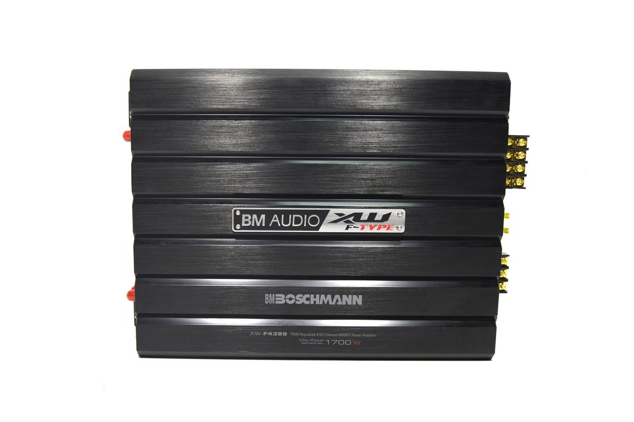 Підсилювач звуку 1700W Boschman BM Audio XW-F4399 (4-х канальний)